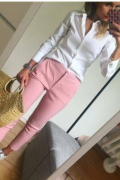 aaTv izle : Combinations Of Stylish Pink Outfits For Women Business Casual Outfits, Business Attire, Office Outfits, Office Wear, Casual Office, Office Uniform, Funny Outfits, Pink Outfits, Cute Outfits
