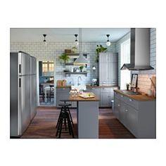 Big Kitchen Trends In 2016 - Interior Decor and Designing Kitchen Chairs, Ikea Kitchen, Kitchen Dining, Kitchen Decor, Grey Kitchens, Home Kitchens, Craftsman Kitchen, Kitchen Trends, Kitchens