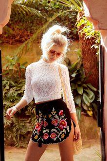 Zuri Skirt Black