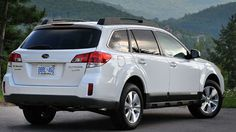 Subaru Tribeca SUV White