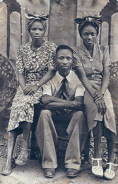 Old family portrait by AKinsey Foto, via Flickr