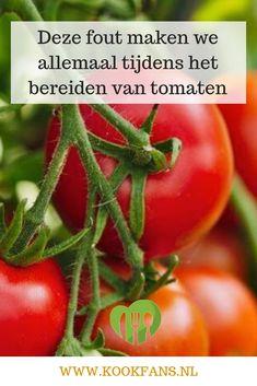 Deze fout maken we allemaal tijdens het bereiden van tomaten