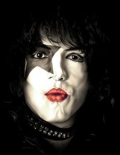 Paul Stanley, Peter Criss, Kiss Pictures, Kiss Band, Thing 1, Hot Band, Star Children, Poster Colour, Metal Artwork