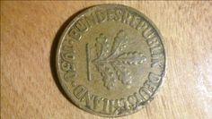 1950 D 10 Pfennig Cud/Die Break? - Coin Community Forum