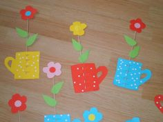 v 8 Martie, Spring Flowers, Paper Flowers, Day, Seasons Of The Year, Spring, Kids, Spring Colors