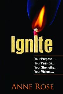 Whether you're looking to change your situation, your relationship or your career; to become a better leader, better parent or better person; to understand your powers and the forces that discourage them, Ignite! Your Purpose, Passion, Vision and Strengths is for you.   Order here: $23.00  www.innergizedsolutions.com