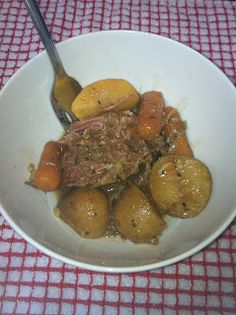 Raising Amelia Rose: Traditional Pot Roast in a Crock Pot