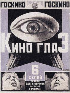 Kino Eye influenciado pelo futurismo por MayKovsky