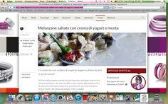melanzane saltate con salsa allo yogurt e menta   http://www.bigodino.it/cucina/melanzane-saltate-con-crema-di-yogurt-e-menta.html