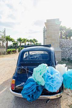Apulia wedding in blue