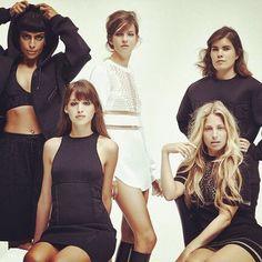 Scans of Vogue Netherlands via TFS. Six new shots of Alexander Wang X H&M Alexander Wang, H&m Fashion, Womens Fashion, Fashion Design, Fashion Beauty, Balenciaga, H&m Collaboration, Dior, Vogue