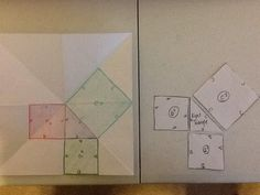 Pg Right Triangle Basics (Optional - Used this my second year, but not my third.) Pg Pythagorean Theorem LEFT: We took a s. Math Notebooks, Interactive Notebooks, Pythagorean Theorem, Right Triangle, Montessori Math, Secondary Math, 8th Grade Math, Trigonometry, Teaching Math