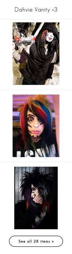 """""""Dahvie Vanity <3"""" by botdfbvbrevenge ❤ liked on Polyvore featuring blood on the dance floor, botdf, people, music, pictures, home, home decor, dahvie vanity, pics and home improvement"""