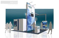 STR, Inc. – 20×20 Trade Show Booth Rental