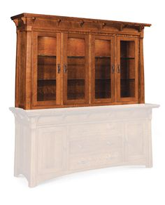 MäRyan Closed Hutch Top, Extra Large from Simply Amish furniture