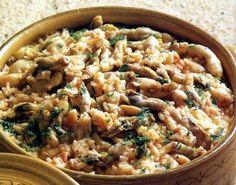 Arroz de Lingueirão - Gastronomia de Portugal - Algarve
