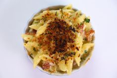 the chew | Recipe  | Curtis Stone's Mac And Cheese With Gruyere, Cheddar, And Bacon
