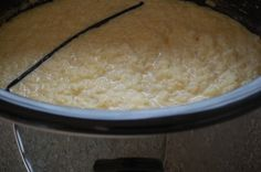 Rice Pudding in a slow cooker! So excited to try this one! Best Crockpot Recipes, Slow Cooker Recipes, Great Recipes, Favorite Recipes, Crockpot Meals, Slow Cooking, Easy Cooking, Crock Pot Desserts, Dessert Recipes