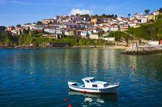 Lastres esta villa marinera, esta ubicada en un anfiteatro natural, Asturias