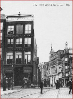 Oude foto's van Amsterdam
