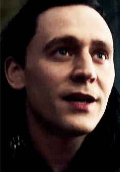 Laughing Loki gif. Great Odin I love him so much!! @Kelly Teske Goldsworthy Teske Goldsworthy Holle