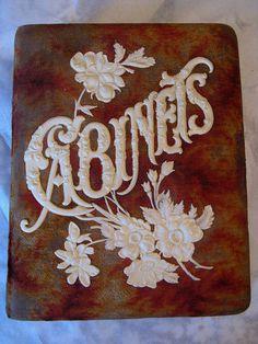 Antique Velvet CABINETS Cabinet Card Photo Album | Ebay