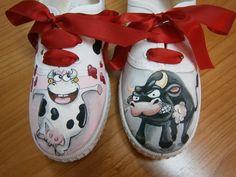ZapateArte: Zapatillas taurinas, zapatillas pintadas a mano, r...