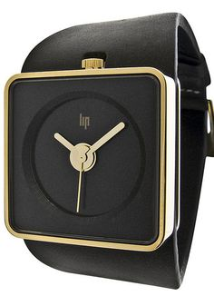 LIP Big TV Black & Gold Automatic