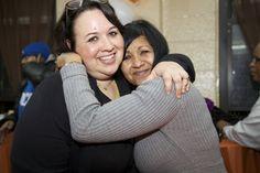Brownsville Partnership Director, Rasmia Kirmani-Frye and Carmen Jackson!    #HOPE is in #Brownsville!    (Photographs courtesy of Sheryl Ann Photography)