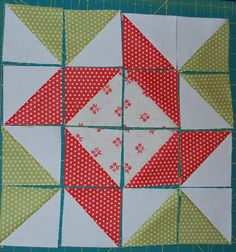 {Sisters and Quilters}: APPLE PIE IN THE SKY QUILT ALONG BLOCK 2