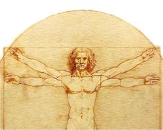 Leonardo Da Vinci Meets Wearable Tech - A Refrigerator Magnet Set