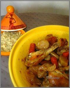 tajine de poulet aux navets et aux carottes 01