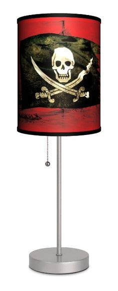 Pirates Sport Silver Lamp