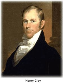 (Henry Clay)The one who promoted American System. Better Transportation system from region to region, especially he wanted three regions to be trade with each other.