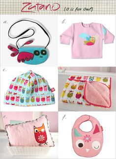 My Owl Barn: Zutano Owls: New Items
