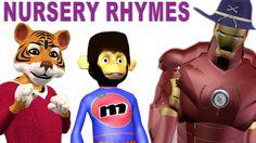 Top Nursery Rhymes & Finger Family Nursery Rhymes | Baby Songs | Animal ...