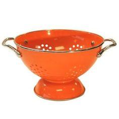 Orange Colander! starting to think i am orange obsessed!  :)