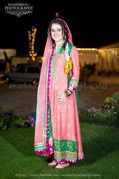 Pakistani Bride on Henna Ceremony