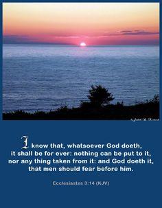 Ecclesiastes 3:14 KJV