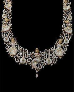9 Magical Clever Ideas: Jewelry Sketch Art Nouveau jewelry for men metals. Trendy Jewelry, Fine Jewelry, Fashion Jewelry, Jewelry Stand, Jewelry Holder, Modern Jewelry, India Jewelry, Temple Jewellery, Jewellery Box