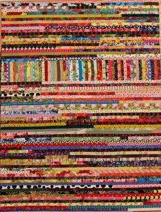 Pastiche Quilt Pattern Scrap Quilt String by KarenGriskaQuilts