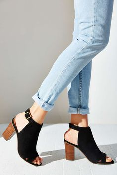 BC Footwear Puma Peep-Toe Heel - Urban Outfitters | www.ScarlettAvery.com