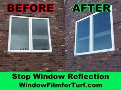 Stop Window Reflection Melting Turf in Los Angeles, CA Window Reflection, Artificial Turf, Window Film, Vinyl Siding, Grass, Exterior, Fire, Windows, Popular