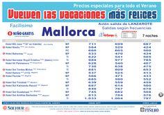 3ª Edición. Las vacaciones mas felices sep-oct. Hoteles en Mallorca salidas desde Lanzarote - http://zocotours.com/3a-edicion-las-vacaciones-mas-felices-sep-oct-hoteles-en-mallorca-salidas-desde-lanzarote/