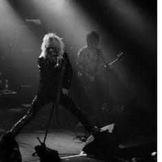 #michaelmonroe #steveconte #TAVASTIA 3/2/18 #blackandwhitephotography #gigs #keikalla #rockphotography. #consertphotography.