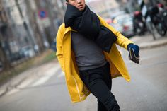 From the Streets of Milan - Milan Men's Fashion Week Fall 2014 Street Style Day 1.