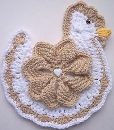 Crocheted Chicken / Rooster