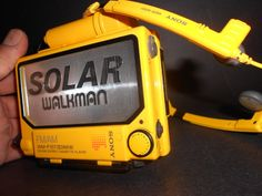 Legendary Sony WM-F107 Solar Walkman cassette with AM-FM stereo in near flawless…