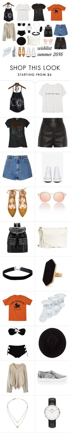 """summer"" by biankalehoc on Polyvore featuring MANGO, Balenciaga, Glamorous, Converse, Miss Selfridge, Jaeger, George, Brixton, White House Black Market and Michael Kors"