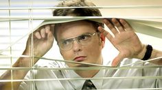 "11. There's always someone spying on you. | Community Post: 14 Ways You Know You Work In ""The Office"""